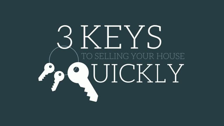 3 Keys to Selling Your House Quickly