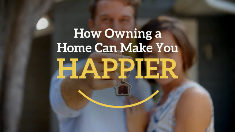 How Owning a Home Can Make You Happier
