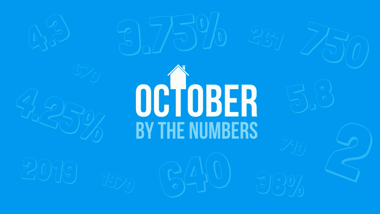 October by the Numbers
