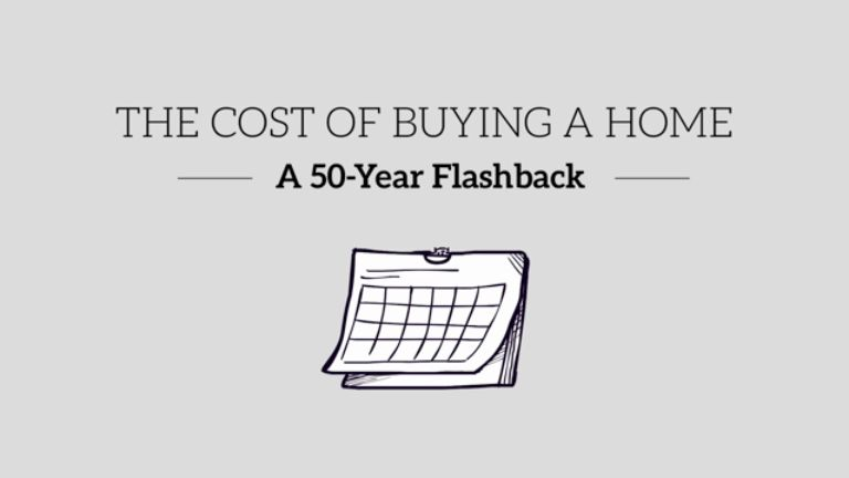 The Cost of Buying a Home - A 50-Year Flashback