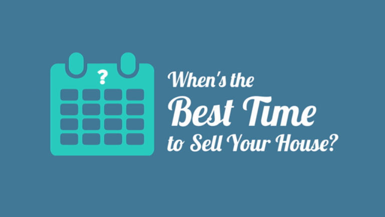 When's the Best Time to Sell Your House?