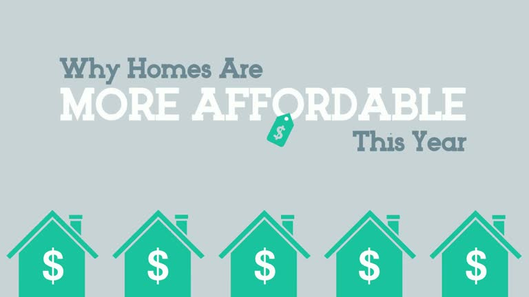 Why Homes Are More Affordable This Year