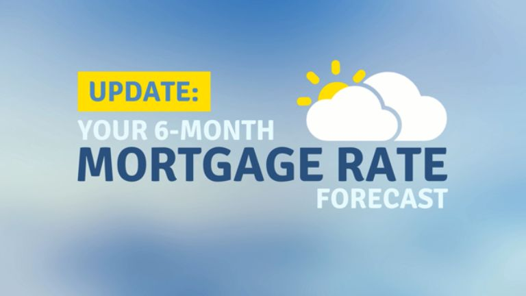 Your 6-Month Mortgage Rate Forecast